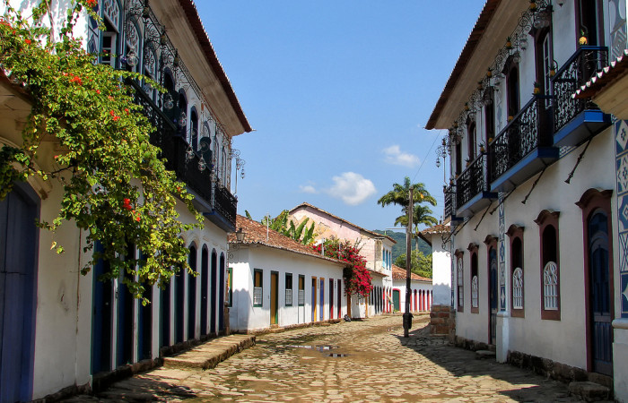 The Historic Center in Paraty, Brazil. (Diego Torres Silvestre via Flickr)