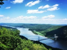 Views of the Hudson Valley from Bear Mountain